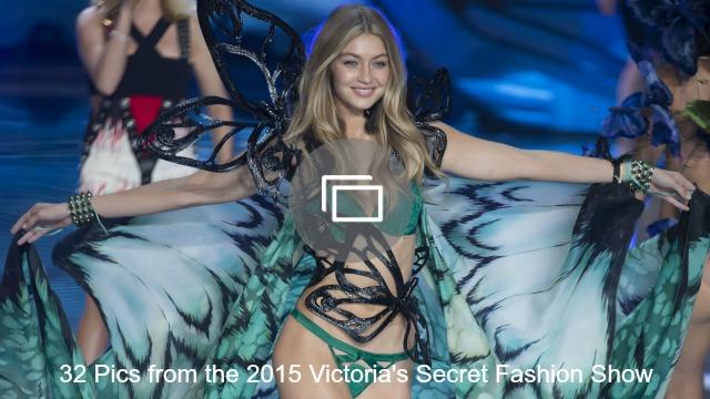 victoria's secret fashion show slideshow