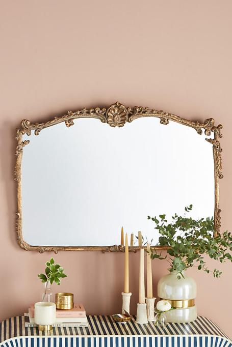 Modern Victorian Decor: Reflect your style with this elegant framed mirror