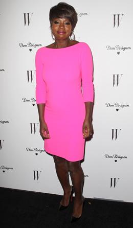 Viola Davis - 69 Annual Golden Globe Awards