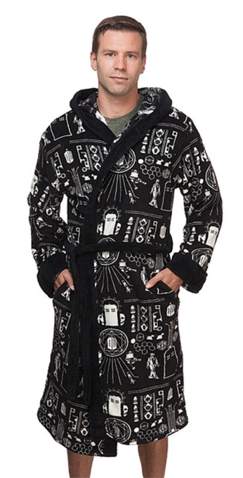 Quirkiest Gifts from Your Favorite Pop Culture Shows: 'Doctor Who' fleece robe