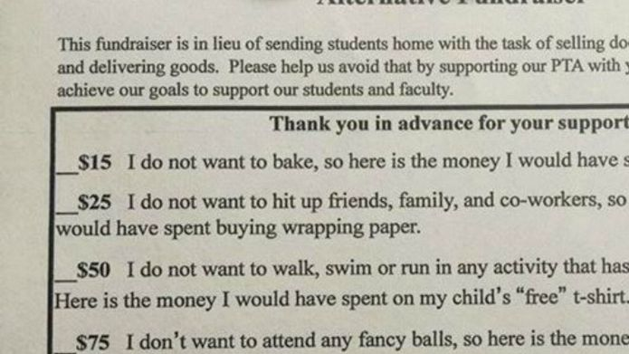 This PTA's hilarious letter to parents