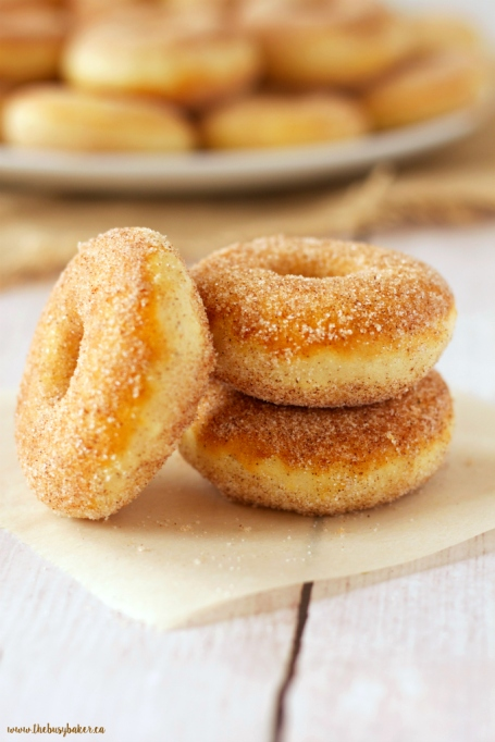 Old Fashioned Baked Cake Doughnuts