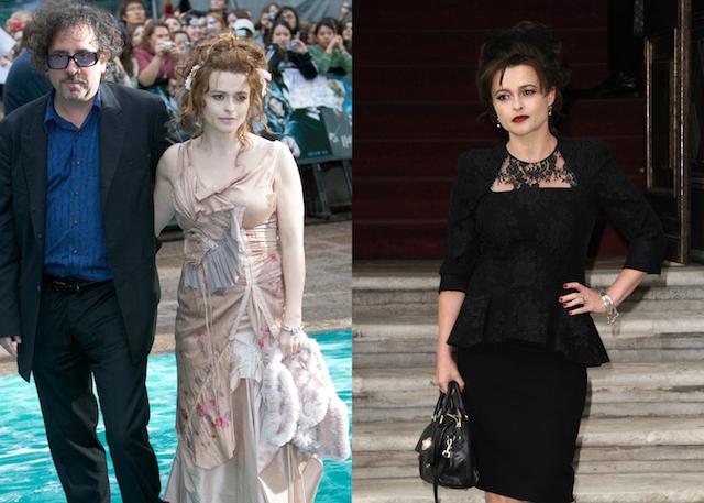 'Harry Potter' Cast: Then & Now: Helena Bonham Carter