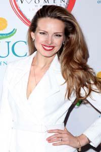 Supermodel Petra Nemcova trades her dancing