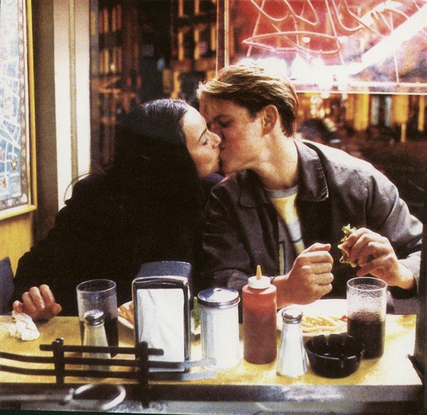 movie kisses Good Will Hunting