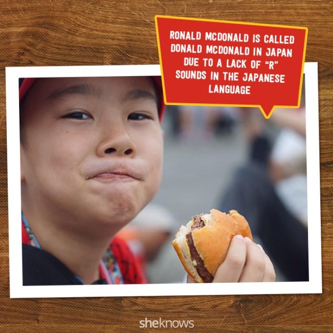 McDonald's Fun Facts