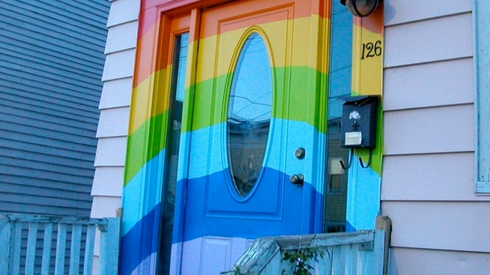 13 Front door colors spotted on