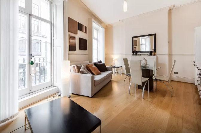 Charles Dickens London flat