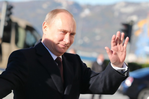 Russian President Vladimir Putin insists there is no homosexual discrimination in his country