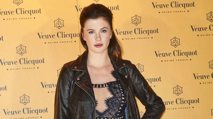 Ireland Baldwin is naked again, but
