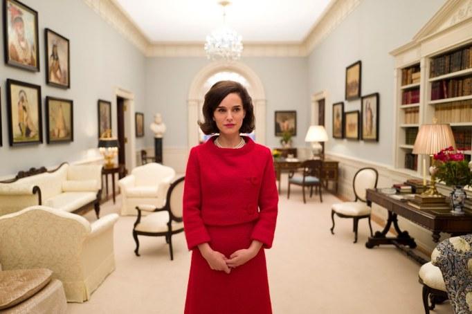Natalie Portman as Jackie Kennedy