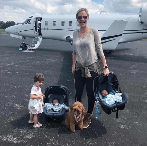 Meghan King Edmonds family on Instagram