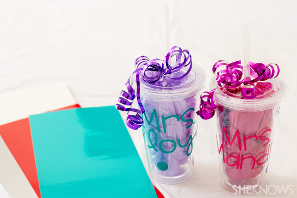 DIY Personalized Cup