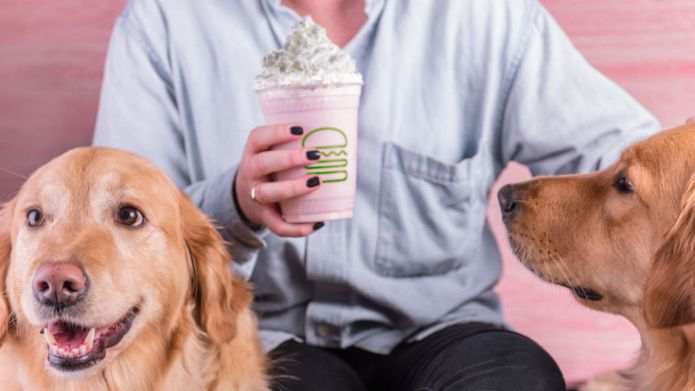 Shake Shack Has a Pink Milkshake