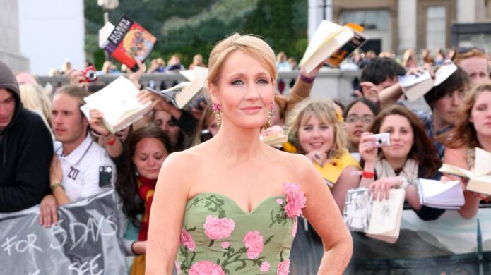 J.K. Rowling finally addresses romance novel