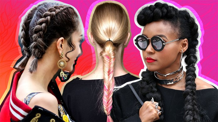The Coolest Braided Hairstyles to Copy