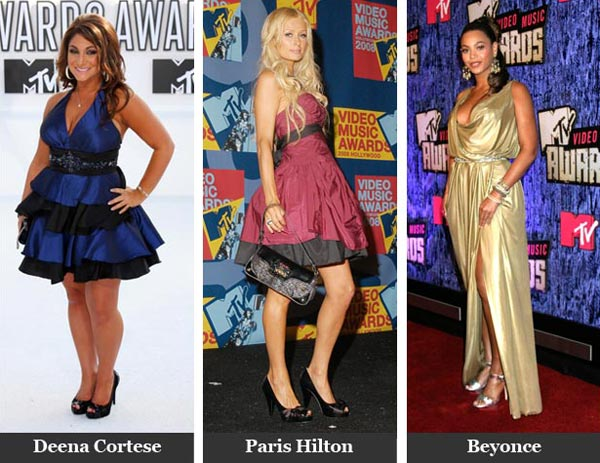 VMA fashion from the past