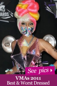 VMA 2011 Best and Worst Fashion pics