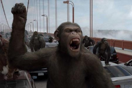 Apes still rule the box office