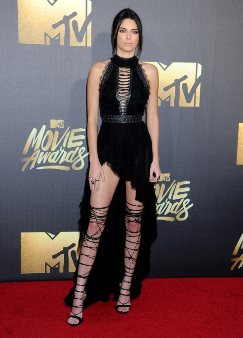Kendall Jenner MTV movie awards boots