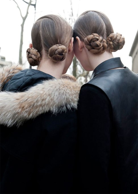 Standout Ways To Style Long Hair | Double Braided Buns