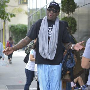 Dennis Rodman was totally wasted during