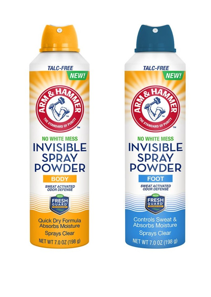 Arm & Hammer Invisible Foot & Body Spray Powder