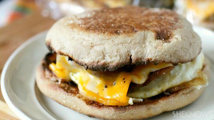 Easy egg breakfast sandwiches you can