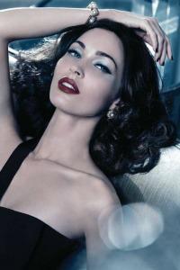 bddd9b72d47a4 Megan Fox goes old Hollywood for Armani – SheKnows
