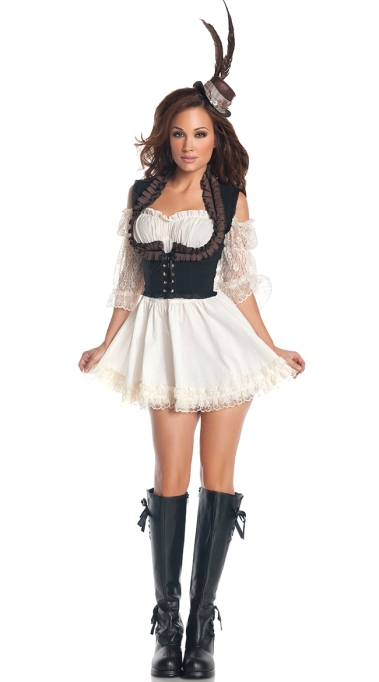 Sexy Halloween Costumes: Steampunk Babe