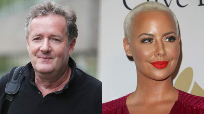 Amber Rose & Piers Morgan Are