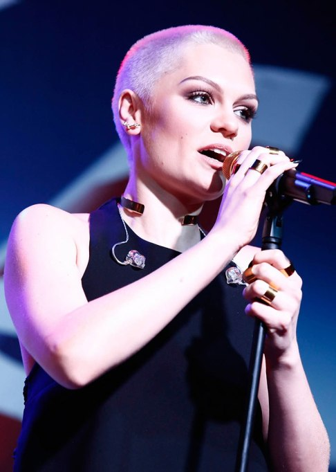 Jessie J. Buzz Cut