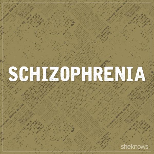 Schizophrenia graphic
