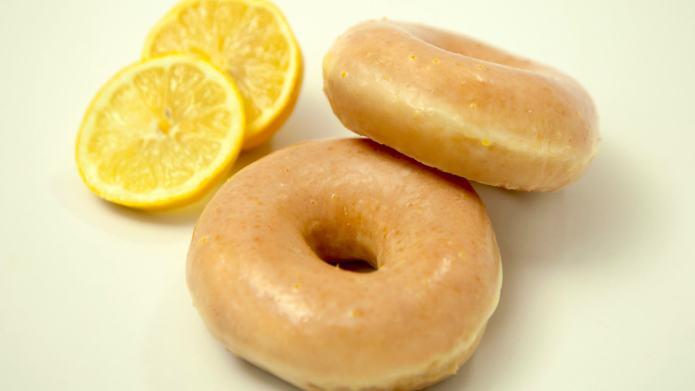 Krispy Kreme's New Lemon-Glazed Doughnut Has