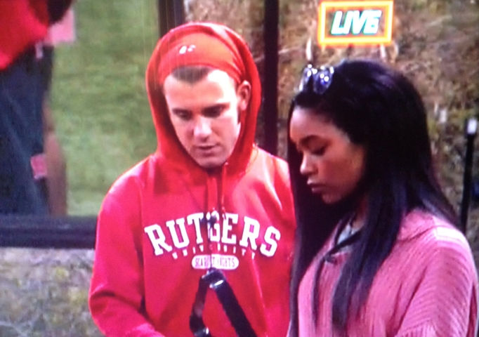 Z and Paulie Big Brother