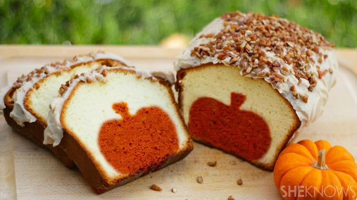 This Clever Pumpkin Pound Cake Recipe