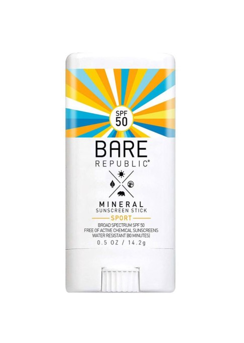 Bare Republic Mineral SPF 50 Sunscreen Stick