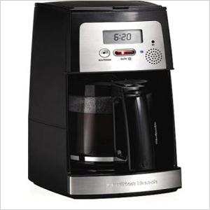 Voice-activated coffeemaker
