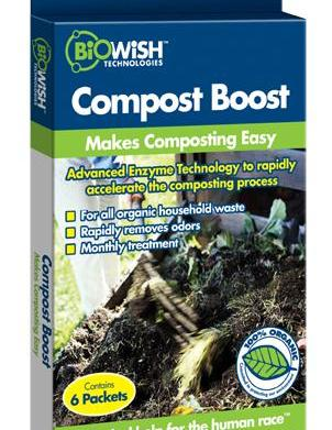 Composting is easy with Compost Boost