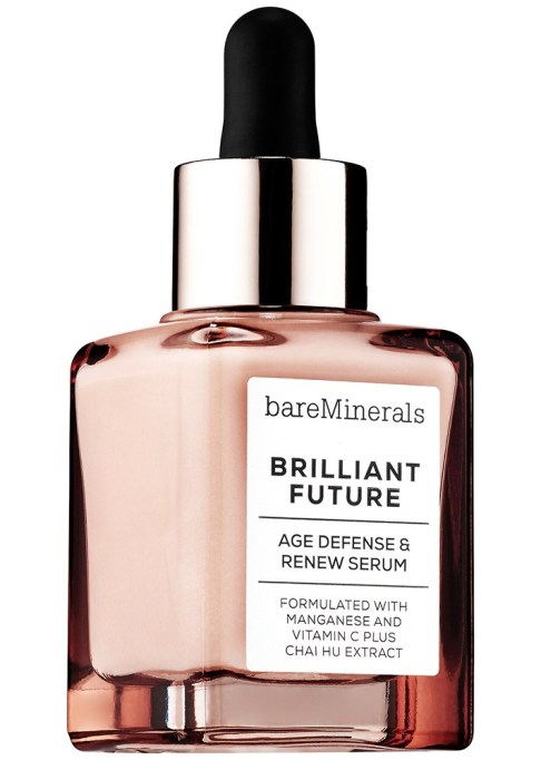 The Best Anti-Aging Products to at Sephora Right Now: BareMinerals Brilliant Future Age Defense & Renew Serum | Anti Aging Skincare 2017