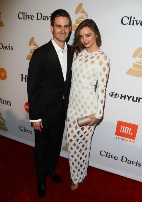 Celebrities who got married in 2017: Miranda Kerr & Evan Spiegel