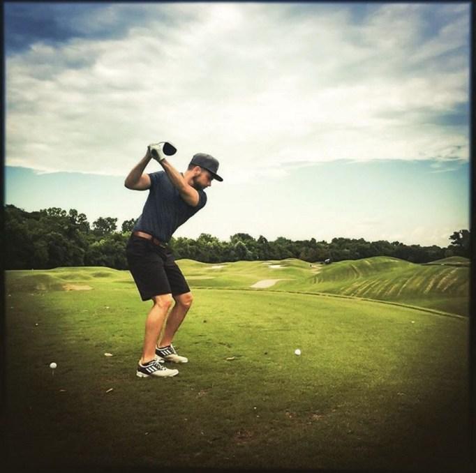 Chris Lane golf