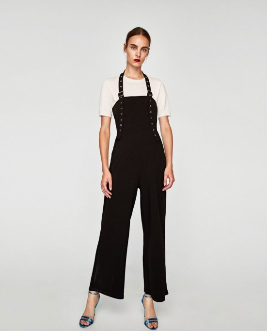 Jumpsuits You Need in Your Closet | Zara Jumpsuit With Ribbon And Buckles