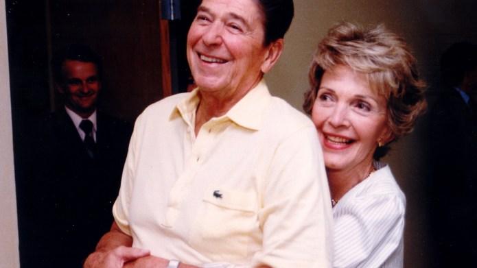 Ronald and Nancy Reagan, September 19,