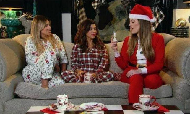 The Kardashian sisters celebrate Christmas