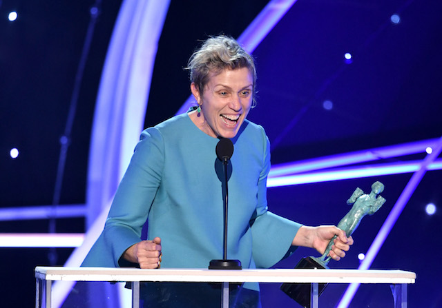 Best Winners' Speeches from the SAG Awards 2018: Frances McDormand