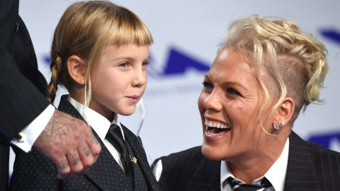 Pink Opts Out of Traditional Gender