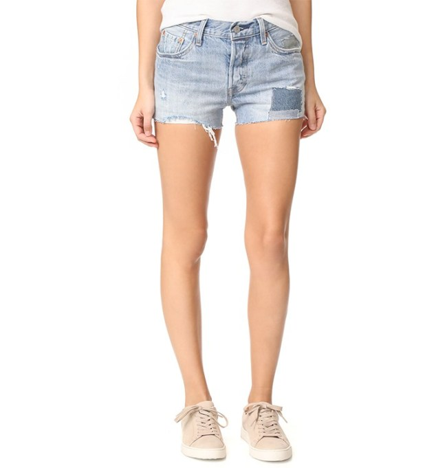 What to Wear to Every Summer BBQ: Levi's 501 Shorts | Summer Fashion 2017