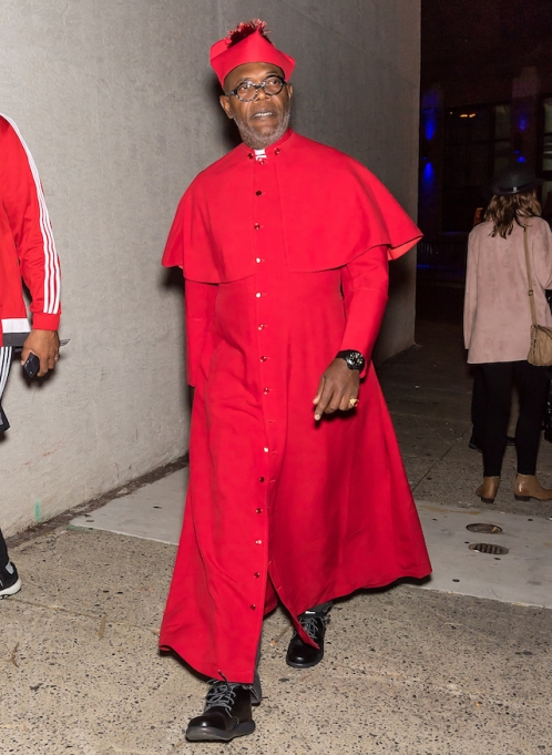 Best celebrity Halloween costumes 2017: Samuel L. Jackson
