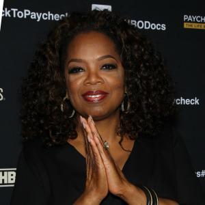 Oprah is a rock star: Hitting